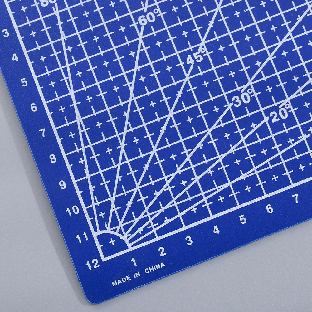 School Supplies A5 Grid Lines Cutting Mat Cutting Plate Sewing Tool Paper Board