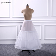 New Arrival In Stock Hot sale Cheap Price Ball Gown Long Petticoat Bridal Gown Dress Underskirt Crinoline Wedding Accessories