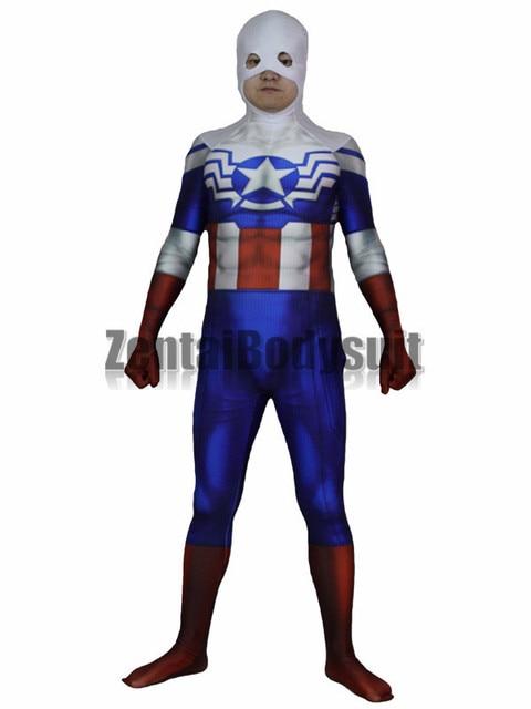 Falcon Captain America Costume Halloween Cosplay Superhero Zentai Suit  sc 1 st  AliExpress.com & Falcon Captain America Costume Halloween Cosplay Superhero Zentai ...
