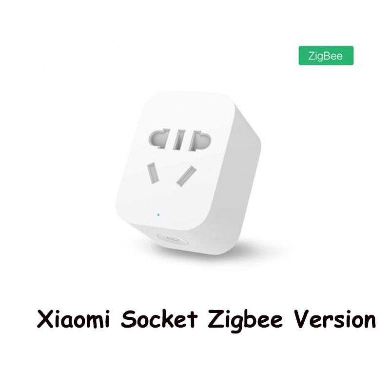 Original Xiaomi Smart Socket Mi Zigbee WiFi APP Wireless Control Switches EU US AU Timer Plug Power Charger Work with gateway