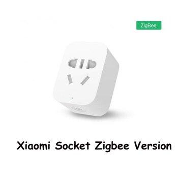 Original Xiaomi Smart Socket Mi Zigbee WiFi APP Wireless Control Switches EU US AU Timer Plug Power Charger Work with gateway Smart Remote Control