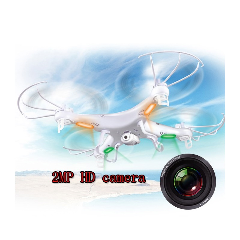SYMA X5C Drone 4CH 6-axis Remote Control Quadcopter with 2MP HD Camera RC Helicopter Dron Toys for Children wltoys q222 quadrocopter 2 4g 4ch 6 axis 3d headless mode aircraft drone radio control helicopter rc dron vs x5sw
