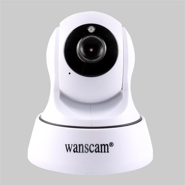 Slot Para Cartão MicroSD TF Wanscam Quente Dual Audio Sem Fio Wifi Pan/Tilt IP Camera Baby Monitor Home Security Vigilância sistema