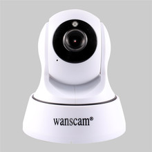 Wanscam Hot TF MicroSD Card Slot Dual Audio Wireless Wifi Pan/Tilt IP Camera Baby Monitor Home Security Surveillance System