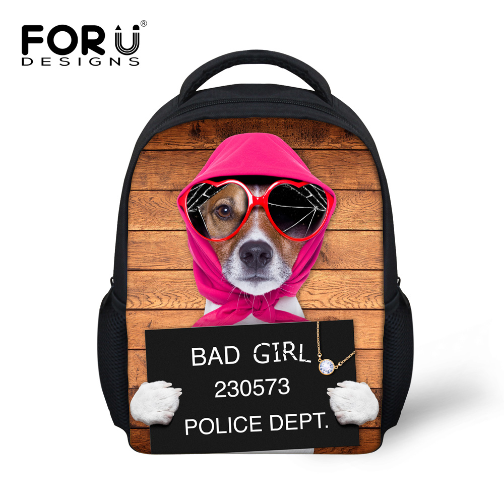 5965b768b1 Super Cute 3D Animal Printing Children Backpack Small Pug Dog Kids Girls  Boys Bagpack School Bags Mochila Kindergarten Infantil