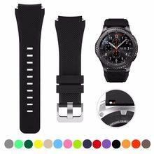 Sport Riem Voor Samsung Galaxy Horloge Band 46Mm/Gear S3 Frontier/Classic Siliconen Armband 22Mm Polsbandje vervanging Correa Riem