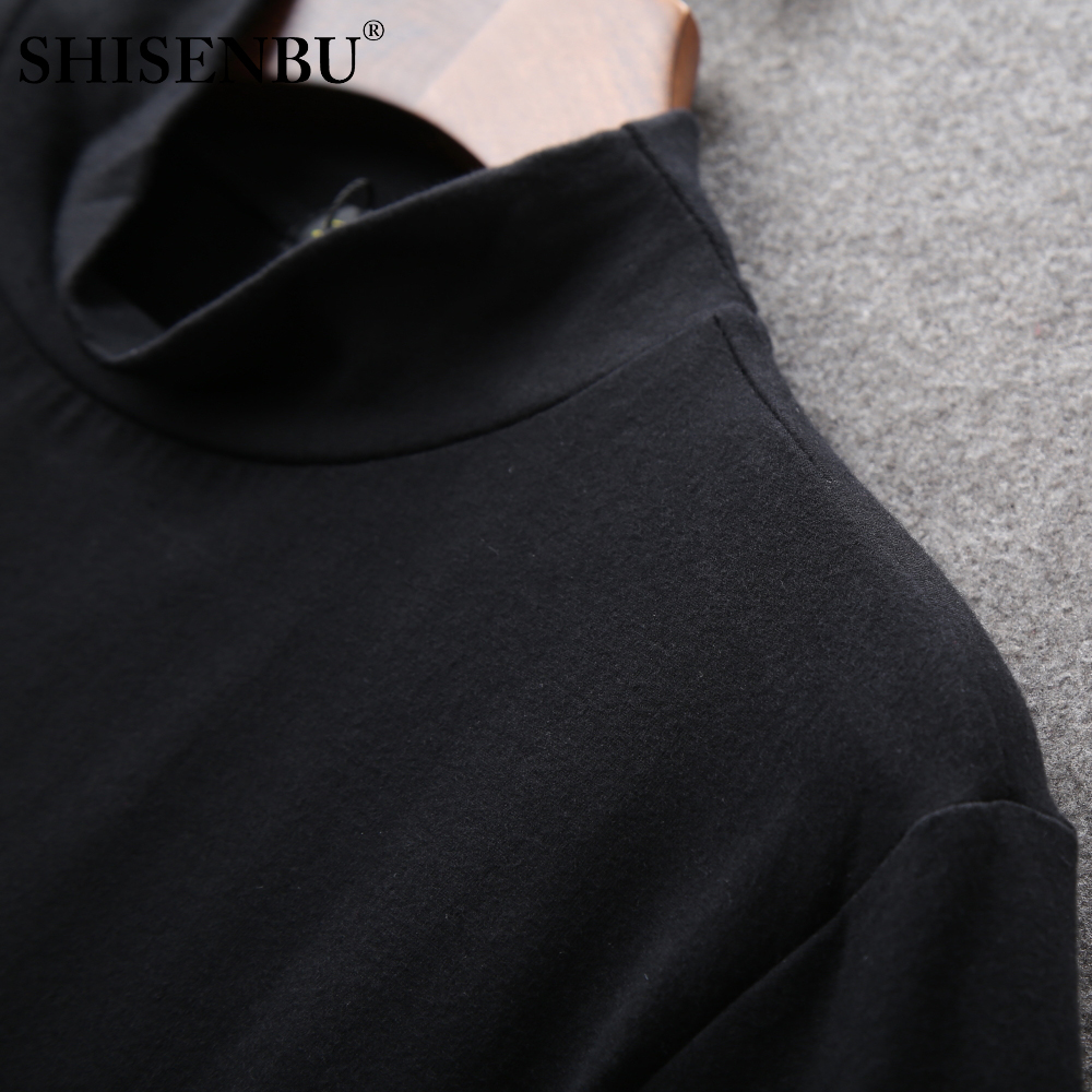 Male Underwear Shirt High Neck Winter Bodysuit Mens Warm Clothes Thermal Undershirts Thick Basic Tops Cotton Undershirt Tshirt (12)