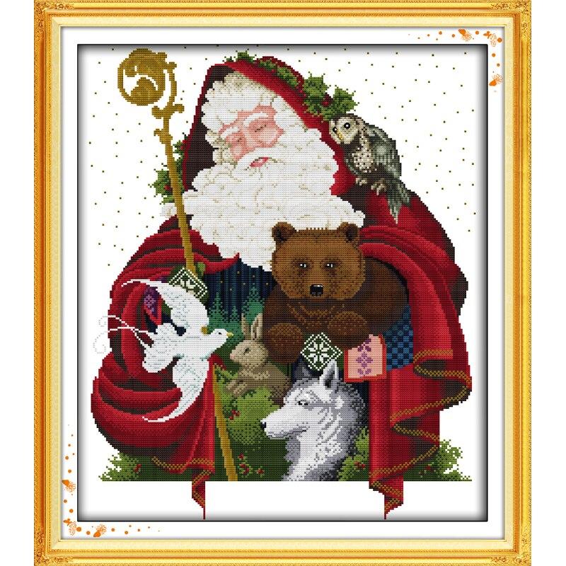 Наборы вышивки крестом новогодние