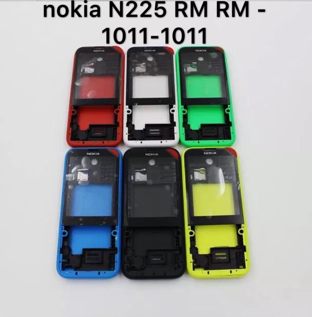 New nokia N 225 RM the RM – 1011-1011 mobile phone shell back cover of the box support battery cover glass