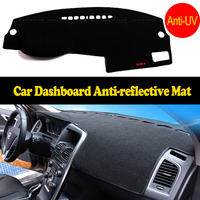 For VW Polo Dashboard Mat Protective Pad Dash Mat Covers Photophobism Pad Auto Dashboard Car Styling