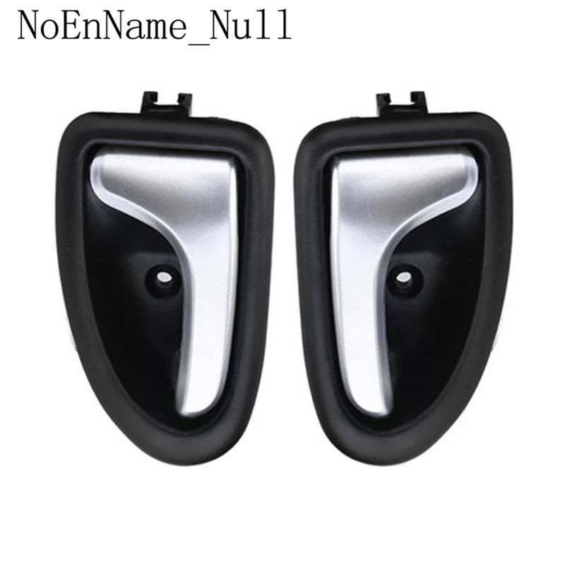 1 Pair Left / Right Black Chrome Car Cable Type Interior Door Handle For Renault for Renault Clio 2000 2009-in Interior Door Handles from Automobiles & Motorcycles