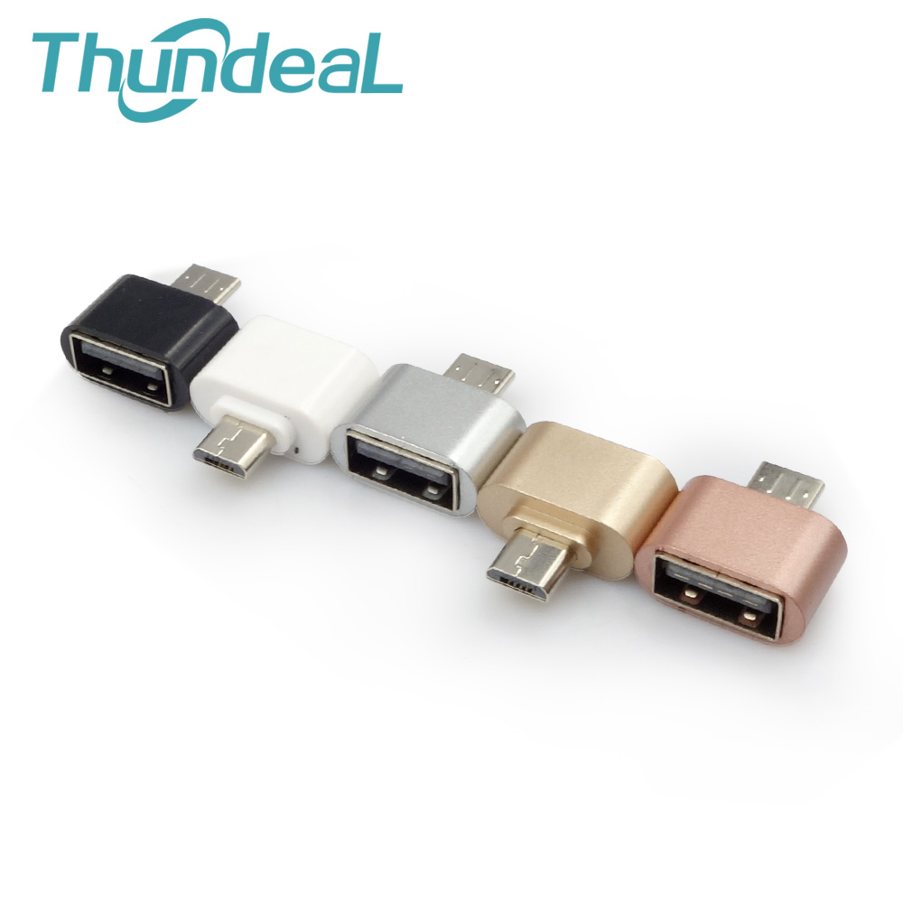 ThundeaL Micro USB To USB 2.0 OTG Adapter Android Phone Tablet For Samsung Galaxy Sony LG OTG Cable Camera MP3 OTG Hug Converter