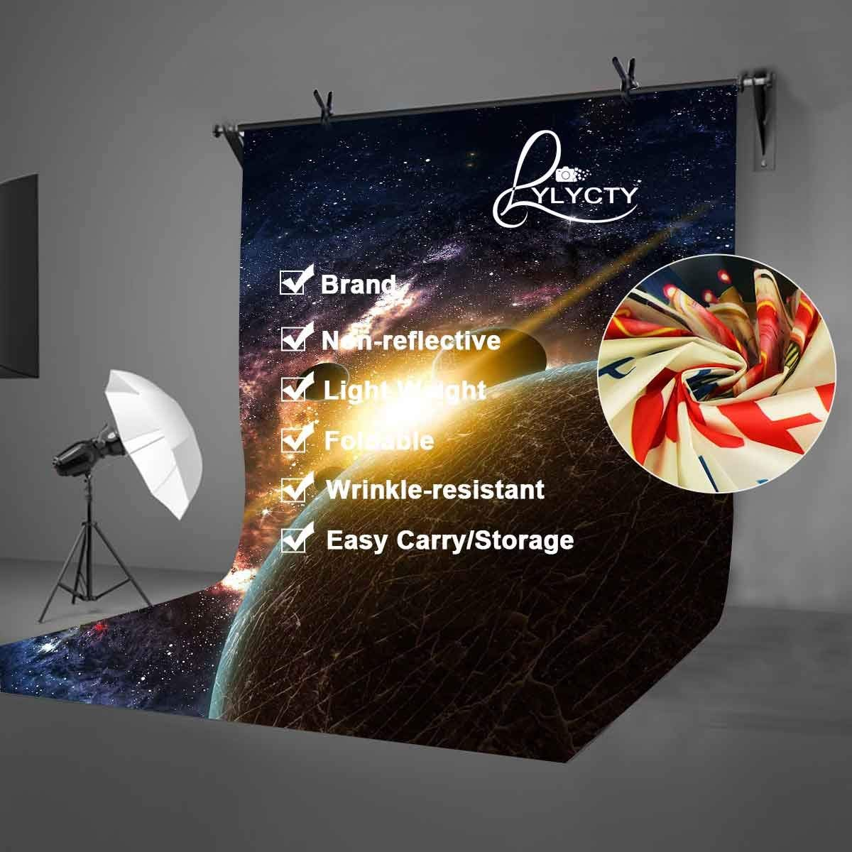 Image 4 - 5x7ft Starry Sky Backdrop Dark Color Cosmic Science Photography Background and Studio Photography Backdrop Props-in Photo Studio Accessories from Consumer Electronics