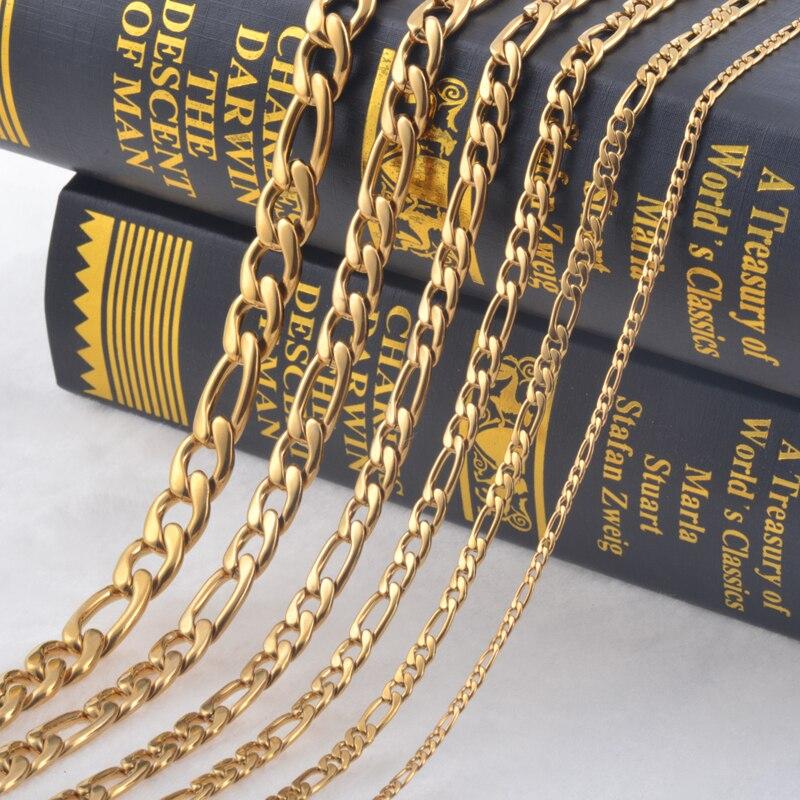 263d1c48800d 3 1mm (ancho) collar de acero inoxidable para mujer COLLAR COLGANTE ...