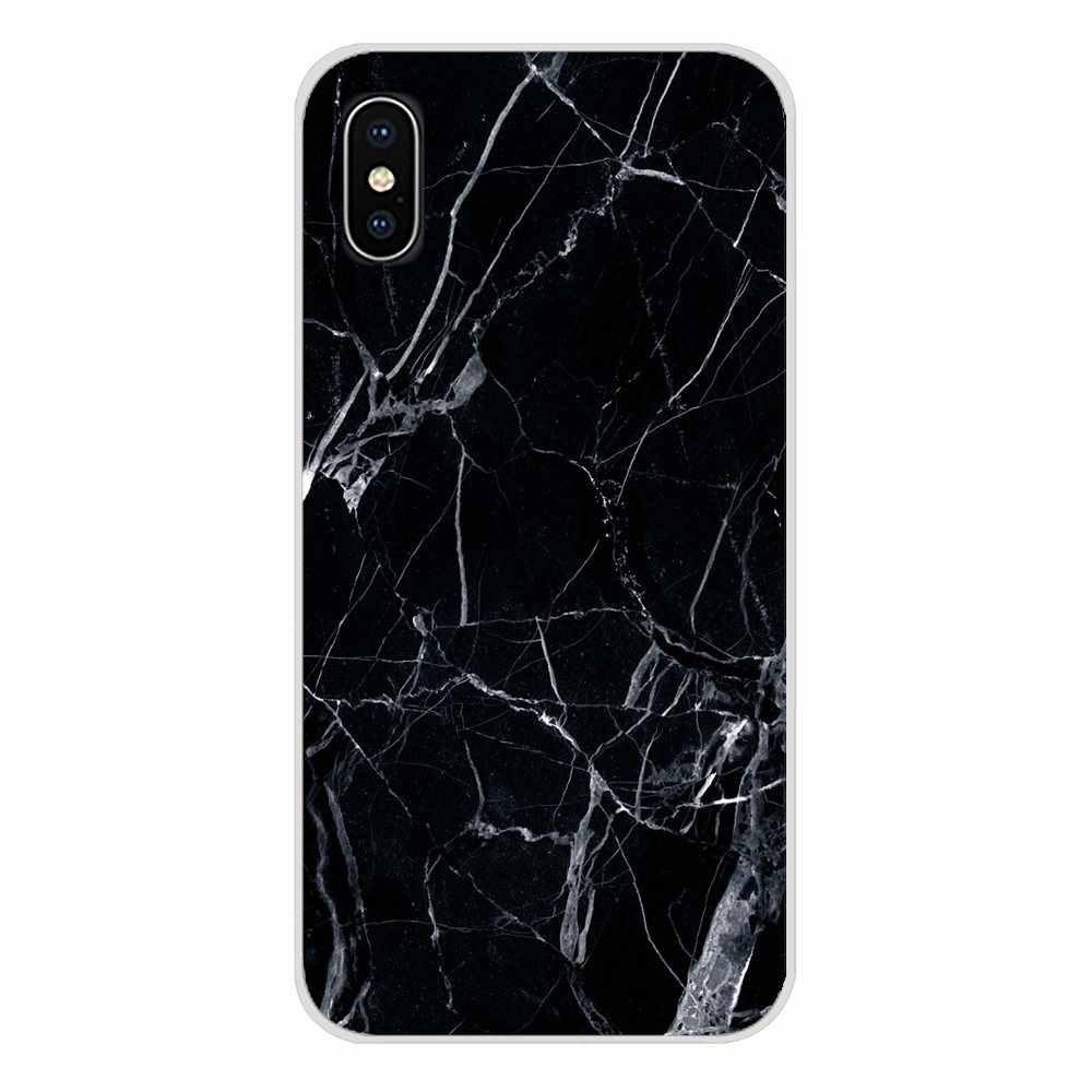Telefon kılıfı Koruyucu moda Pürüzsüz Mermer Taş Için G7 G8 P7 P8 P9 P10 P20 P30 Lite Mini Pro P akıllı Artı 2017 2018 2019