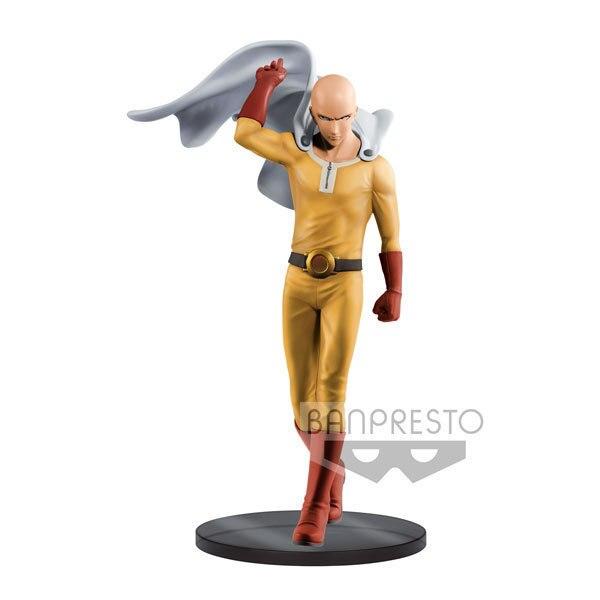 Anime One Punch Man DXF Saitama PVC Figure Collectible Model Toy 15 cm