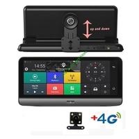 4G ADAS Автомобильная камера GPS 7,84 Android 5,1 Автомобильные видеорегистраторы WI FI видео с разрешением 1080 P Регистраторы регистратор видеорегистра