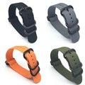 Hot sale da moda kit suunto core banda cinta de nylon nato longo w Adaptadores de Terminais 24mm Pulseiras de Relógio de nylon Zulu pulseira inteligente para homens