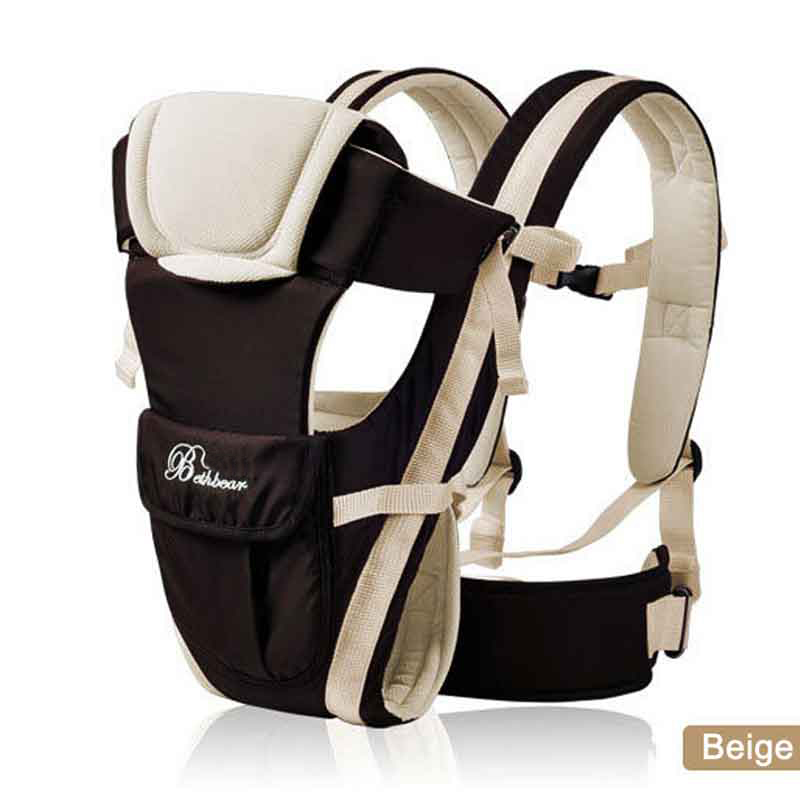 Image 2 - Beth Bear 0 30 Months Breathable Front Facing Baby Carrier 4 in 1 Infant Comfortable Sling Backpack Pouch Wrap Baby Kangaroo New-in Backpacks & Carriers from Mother & Kids