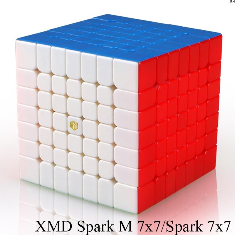 Mofangge X-Homme Conception SparkM 7x7 Magnétique Cube Qiyi Spark M 7x7x7 Vitesse cubes WCA Puzzle Magic Cube Puzzle Jouets pour Enfants