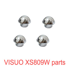 4Pcs VISUO XS809W XS809HW XS809 RC Quadcopter Drone Blade Covers Propeller Fixed Cover Original Spare Parts