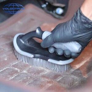 Image 5 - U Tipo de Escova com PP Non slip Punho Roda Mais Limpo para o Assoalho Do Carro e Mat Tronco Auto Detalhamento de Limpeza máquina de Lavar Roupa