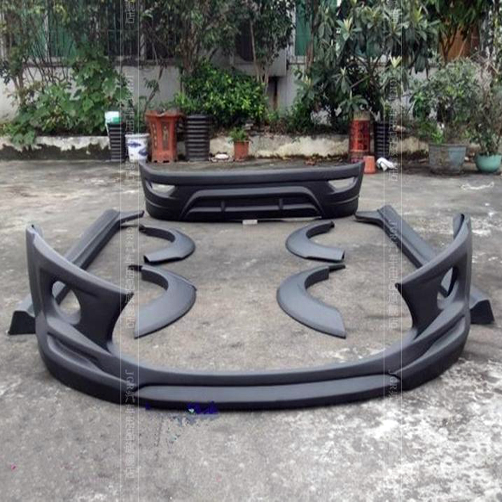 For Ford Fiesta Mk7 Body Kit Car Styling Front Bumper Rear