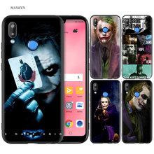 Silicone Case Cover for Huawei P20 P10 P9 P8 Lite Pro 2017 P Smart+ 2019 Nova 3i 3E Phone Cases Batman Joker Dark Knight(China)