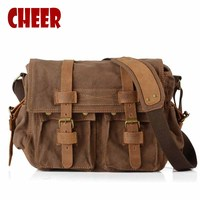 Men S Shoulder Hand Bag Canvas Laptop Retro Bags Dollar Price Messenger Dollar Price Briefcase Clutch
