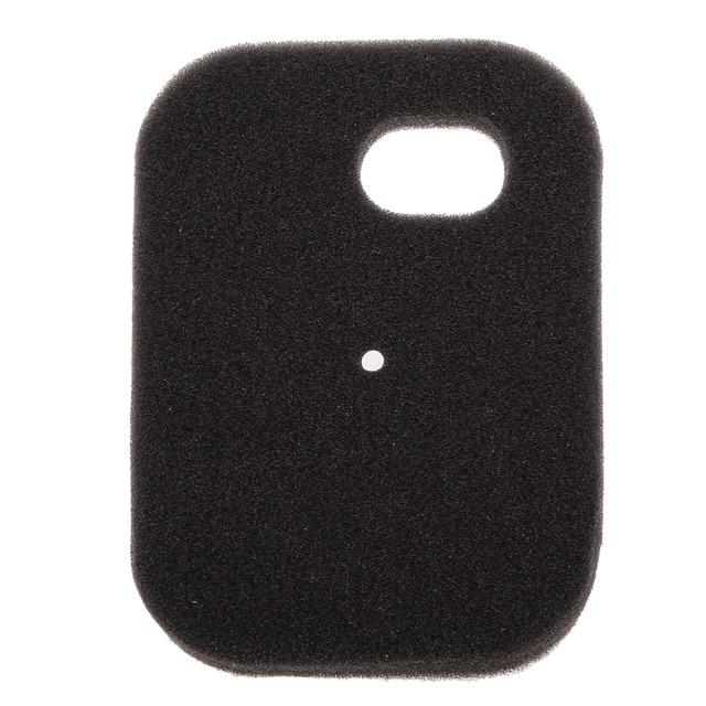 1 Pcs Black Sponge Air Filter Cleaner Replacement For Yamaha PW50 Replacement For Motorcycle Air Filter 4.33 x 3.15 x 0.59 Inch