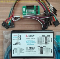 Linha de download Xilinx ALTERA LATTICE3 1USB Novo Programa FPGA CPLD Downloader Queima e Escrita