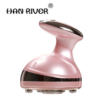 2018 LED Portable Ultrasonic Body Slimming Massager Cavitation Fat Removal Photon Radio Frequency RF Therapy For Weight Lose