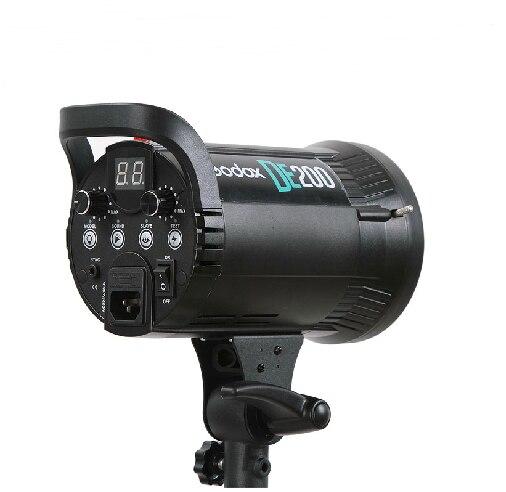 italienische studiobeleuchtung zelt godox de200 200 watt kompakte studio beleuchtung lampe kopf licht strobe 200ws 220 240 in