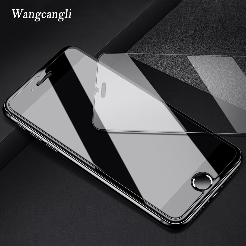Image 3 - 2.5D 9H protective on the for iphone 7 glass screen protector tempered glass for iphone se 7 8 plus 6 5s 5 4S glass for iphone x-in Phone Screen Protectors from Cellphones & Telecommunications