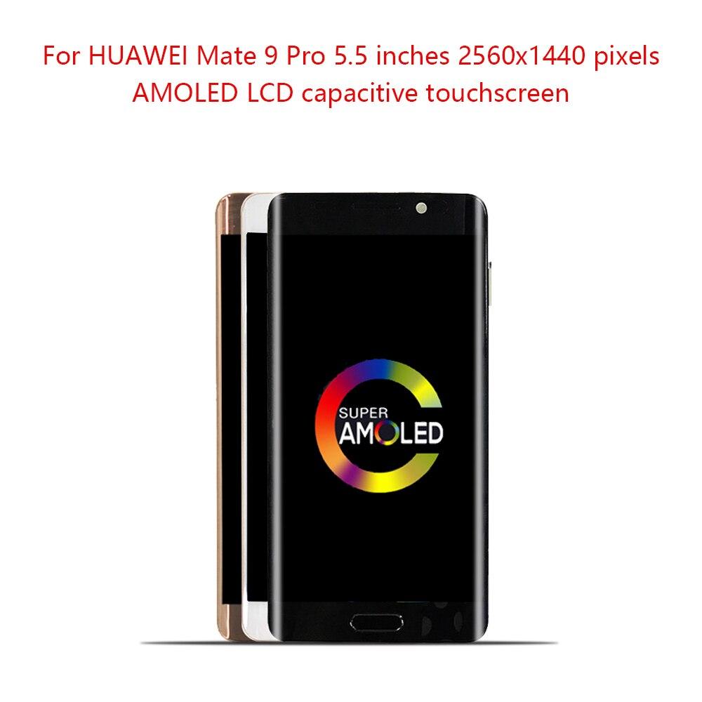 Sinbeda 5,5 Дисплей для Huawei Mate 9 Pro ЖК дисплей Сенсорный экран дигитайзер Ассамблеи рамка для Huawei Mate 9 Pro ЖК дисплей Замена