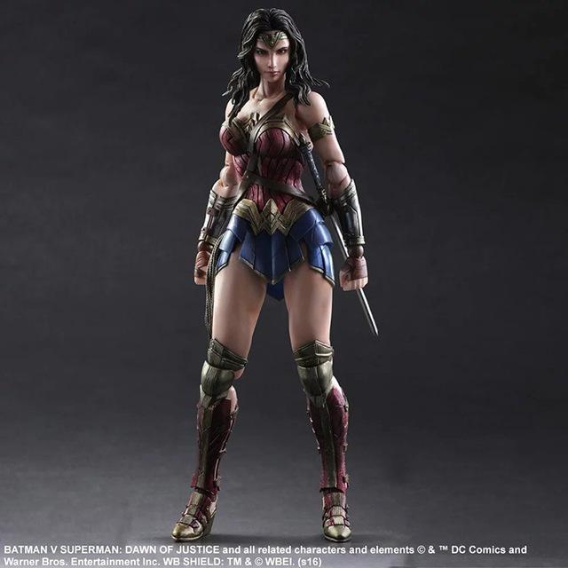 Batman V Superman Wonder Woman Action Figure PVC Doll