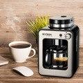 Кофемашина для дома полностью автоматическая итальянская Коммерческая Паровая машина для приготовления кофе с пузырьками молока