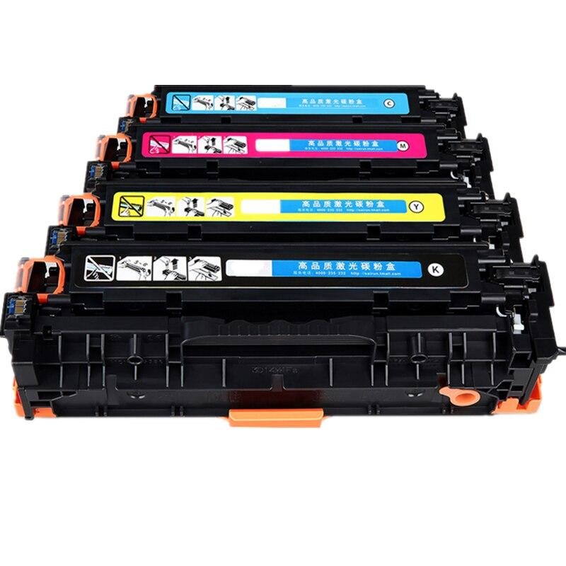 1PK CE 410X/410A/411A/412A/413A pour cartouche de Toner HP, cartouche de Toner Compatible CE410 utilisation pour imprimante Laser HP, livraison gratuite
