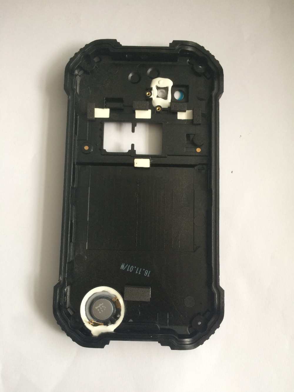 Image 4 - New Blackview BV6000 Battery Cover Back Shell+Loud Speaker For Blackview BV6000S Phone Free shipping+tracking number-in Mobile Phone Housings & Frames from Cellphones & Telecommunications on