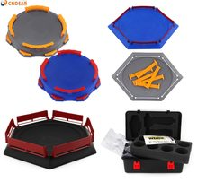 Beyblade Burst Gyro Arena box Disk Exciting Duel Spinning Top Toy Accessories Arena Beyblade Stadium Kids Best Gifts(China)