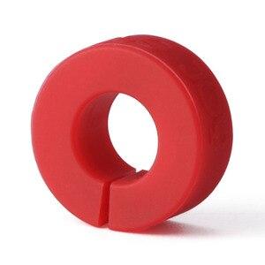 Image 2 - Youpin יין זכוכית זיהוי טבעת זיהוי סמני אדום יין מזון קשר רמת רחב טווח של כוסות