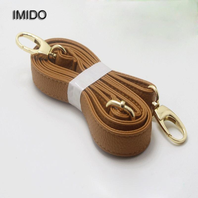 IMIDO Adjustable Strap for bags women Replacement Shoulder Straps Bag Belt pu Leather Shop online handbags Accessories STP015 все цены