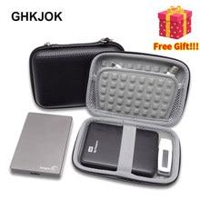 Портативный 2,5 дюймовый чехол для жесткого диска Защитная сумка для внешнего жесткого диска/наушников/u-диска/кабеля для передачи данных/банка питания сумка для хранения