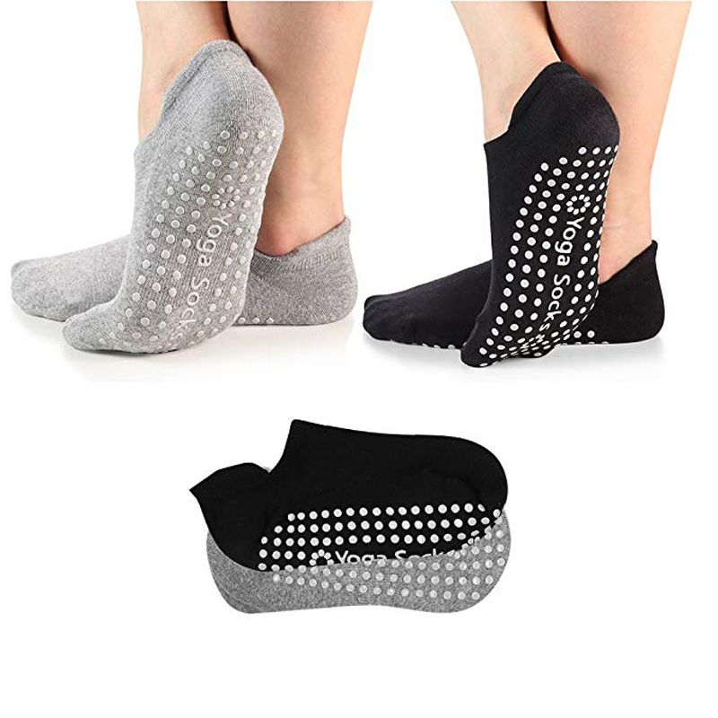 Yoga Woman Socks Professional Anti Slip Sport Socks Sweat-absorbent Breathable Pilates Socks Gym Fitness Sports Cotton Socks