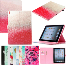 Tablet A1701 A1709 Funda For iPad Pro 10.5 2017 Luxury Cartoon Print Leather Wallet Magnetic Flip Case Cover Coque Shell Stand