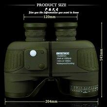 Fernglas Militär 10×50 professionelle marine-ferngläser Wasserdichte Digitaler Kompass fernrohr hochleistungs lll vision
