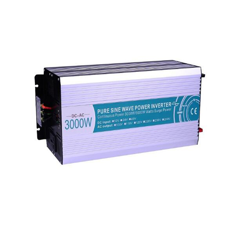 3000W Pure Sine Wave Inverter DC 12V 24V 48V To AC 110V 220V Work With Water Pump Air Conditioner Refrigerator Solar Inverter