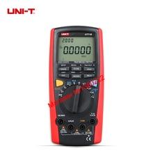 UNI T UT71B professional Intelligent LCD Digital AC DC current voltage USB true REL Resistance Tester