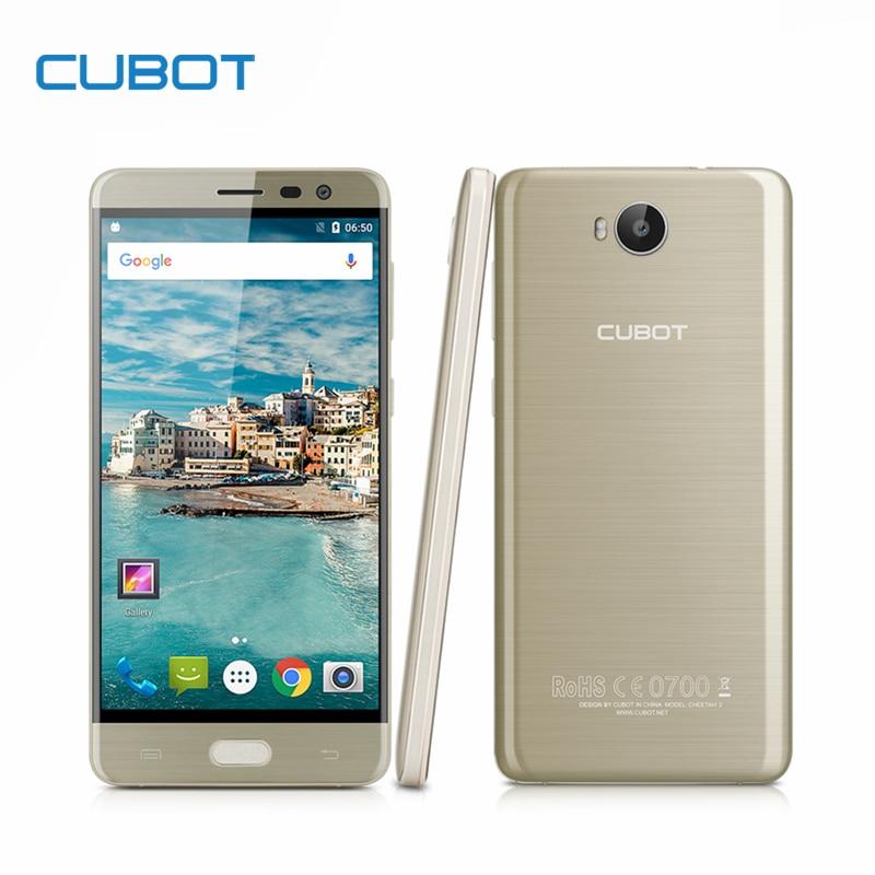 Cubot CHEETAH 2 font b Smartphone b font MT6753 Octa Core 5 5 Inch FHD 3GB