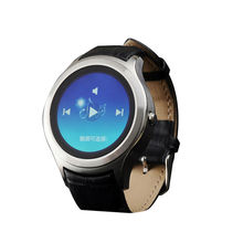 2016 neue Original Kreis 3G Android-Handy Smart Uhr X1 smartwatch 1,3 zoll IPS Android 4.4 mit GPS WIFI SIM Herz rate